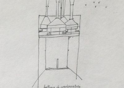 1970 - BATTERIA DI CONDENSATORI DI RUMORE